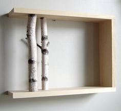 Gorgeous little shelf from Virtual Design Lab on Etsy!