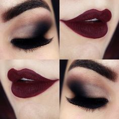 nice dark wedding makeup best photos
