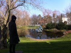 Im August 2014 war ich zur Bloggerreise nach Basel eingeladen! Am Morgen nach dem Basler Morgestraich im Garten der Fondation Beyeler in Basel-Riehen - Foto © Welz