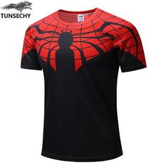 Superman Batman Spiderman Captain America Hulk Iron Man Fitness Shirts (Hot this WEEK)