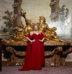 "Joan Rivers Red Gown By Terry O'Neill   American comedienne television and radio presenter Joan Rivers, who works as a television and radio presenter, London, 1992.  Limited Edition C-Print Signed and Numbered  16"" x 16"" / 20"" x 20""  24"" x 24"" / 30"" x 30""  40"" x 40"" / 48"" x 48"" / 60"" x 60"" / 72"" x 72""  For questions or prices please contact us at info@igifa.com     IGI FINE ART"