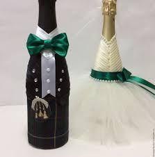 бутылка жених и невеста мастер класс - Поиск в Google