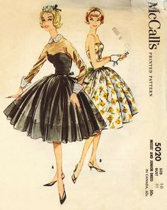 mccall's dress 5020 by carbonated, via Flickr