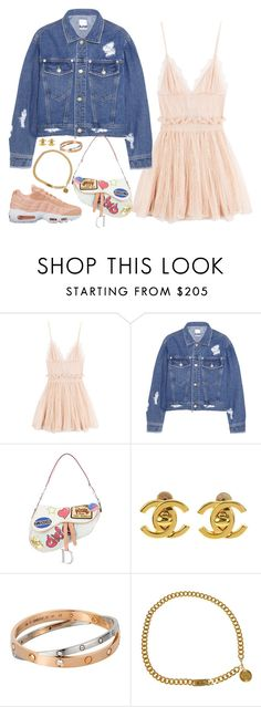 """""""Set #23 - Pretty In Pink"""" by planetpineapple ❤ liked on Polyvore featuring Alexander McQueen, Steve J & Yoni P, NIKE, Christian Dior, Chanel, Cartier, StreetStyle, Dior, ChristianDior and streetwear"""