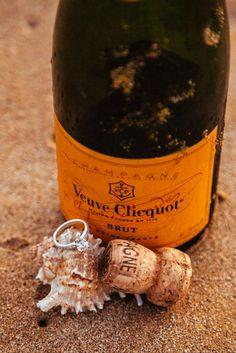 A beachy wedding ring shot idea | Hawaii Engagement Photos | Chris J Evans Photography