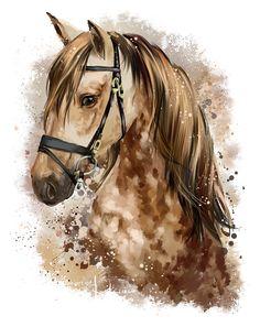 Horse by Kajenna.deviantart.com on @DeviantArt