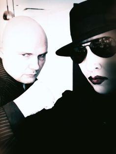 Billy Corgan & Marilyn Manson
