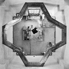 luzfosca: Marina Abramović  The Kitchen II - série Homage to Saint Therese, 2009