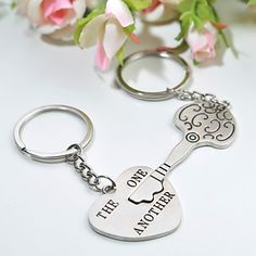 Personalized Keyring - The One Another (Set of 6 Pairs)