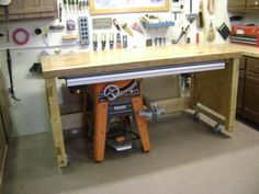Ridgid 3650 Outfeed table solution...I'll be building this.