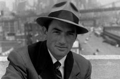 Fedoras are formal with large brims, as evidenced above by Gregory Peck. Cock it to the side for some attitude (also to look less like an old school FBI man).