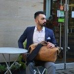 Kurtis Paul - Designer Mens Bag - The Cromwell Leather Duffle Bag. Every mans trusted bag, suitable for weekends away, the office or a high class gym bag
