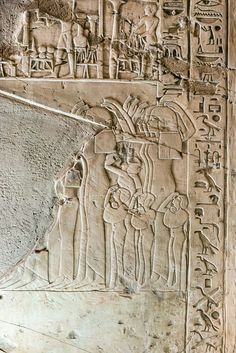 https://flic.kr/p/N61RJ | Khaemhat 2616 | Khaemhat was Superintendent of the Granaries in the reign of Amenhotep III. Khaemhat's main function was agricultural produce control and its safe storage and distribution. This well crafted relief in the tomb of Khaemhat shows mourning-guests who accompanies Khaemhat on his way to the burial.