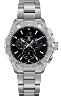 @tagheuer Watch Aquaracer Chronograph #add-content #bezel-fixed #bracelet-strap-steel #brand-tag-heuer #case-material-steel #case-width-43mm #chronograph-yes #date-yes #delivery-timescale-1-2-weeks #dial-colour-black #gender-mens #luxury #movement-quartz-battery #new-product-yes #official-stockist-for-tag-heuer-watches #packaging-tag-heuer-watch-packaging #style-dress #subcat-aquaracer #supplier-model-no-cay1110-ba0927 #warranty-tag-heuer-official-2-year-guarantee #water-resistant-300m