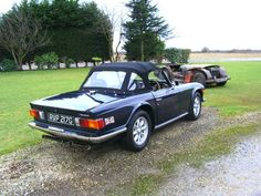 Like the tailpipes on this TR6