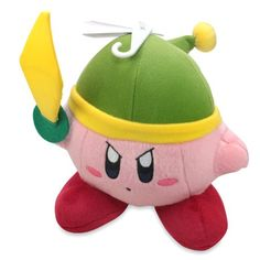 "Little Buddy Official Kirby Adventure Link/Sword Kirby 6""..."