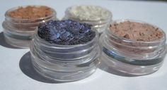 Vegan Mineral Eye Shadows Cruelty-Free Four Shades Makeup by kmms