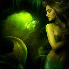 Elena Dudina - The mermaid