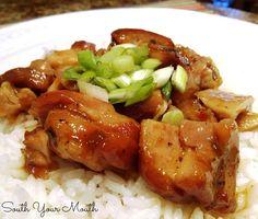 Honey Garlic Chicken {Crock Pot}
