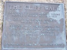 Cliff Walk  Newport, RI