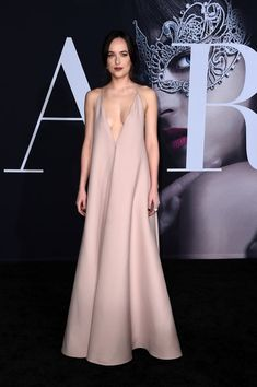 """Dakota Johnson Photos Photos - Actress Dakota Johnson attends the premiere of Universal Pictures' """"Fifty Shades Darker"""" at The Theatre at Ace Hotel on February 2, 2017 in Los Angeles, California. - Premiere Of Universal Pictures' 'Fifty Shades Darker' - Arrivals"""
