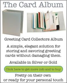 5 minute craft storing birthday cards 1st bday ideas the card album for storing your favorite greeting cards kymberli calloway w get organized bookmarktalkfo Choice Image