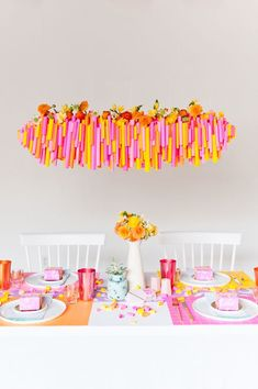 5 (Budget-Friendly) DIY Ways to Colorize your Thanksgiving Dinner Table