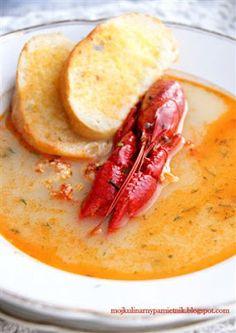 Bernika - mój kulinarny pamiętnik: Zupa rakowa