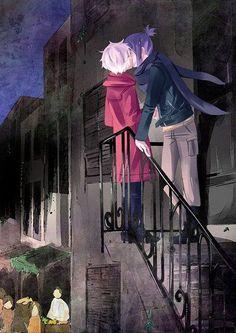 Nezumi and Shion Nezushi~ N 6 Anime, Anime Art, Anime Boys, Canon Anime, Nezumi No 6, Yukine Noragami, Shonen Ai, Otaku, Sasunaru