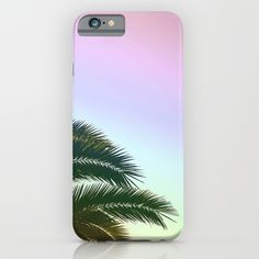 Palm Leaves - Tropical Sky - Chilling Time iPhone Case by staypositivedesign Ipod, Chill, Palm, Iphone Cases, Tropical, Sky, Cool Stuff, Heaven, Ipods