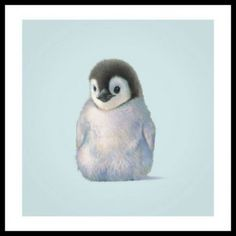 Penguin Art Print by Butler Art, John 12 x Penguin Nursery, Penguin Art, Penguin Love, Cute Penguins, Family Painting, Painting Snow, Painting Frames, Painting Prints, Art Prints