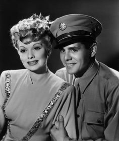 Lucille Ball and Desi Arnaz  I admire them so much for their talent and for their desire to work together.