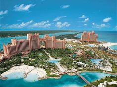 Atlantis Resort in the Bahamas.