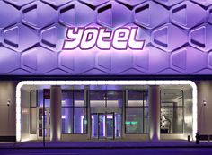 Close to Times Square, Yotel is a futuristic spot with pod-like cabins and its own robot.