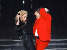 Madonna and Psy - Gangnam Style! :))
