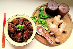 Annielicious Food: Mdm Chai's Pig Trotter in Vinegar with Ginger (猪脚醋)