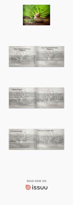 Future of Ayurvedic PCD Pharma Companies