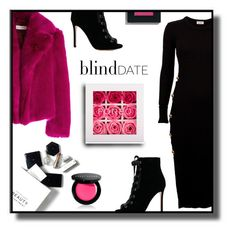 """""""Blind Date"""" by gracecar3 on Polyvore featuring H&M, Dries Van Noten, Gianvito Rossi, FOREO and Bobbi Brown Cosmetics"""