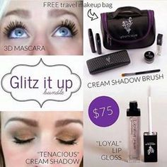 Get your limited edition Glitz It Up Bundle at glamgirlmascara.com and save $10!