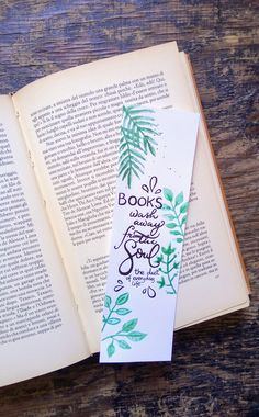 Bookmarks Quotes, Bookmarks For Books, Creative Bookmarks, Paper Bookmarks, Watercolor Bookmarks, Calligraphy Doodles, Calligraphy Alphabet, Islamic Calligraphy, Doodle Quotes