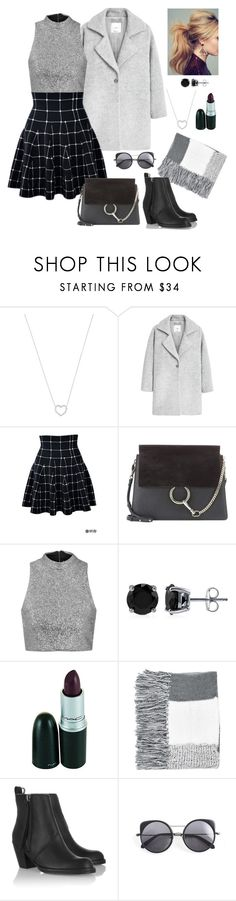 """Untitled #67"" by marlynalexandria ❤ liked on Polyvore featuring Tiffany & Co., MANGO, Chloé, Topshop, BERRICLE, Acne Studios and Wood Wood"