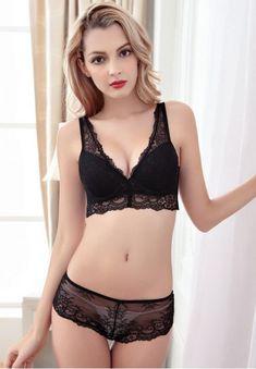 0f262dda6ed Noble Sexy Deep V Push-up Lingerie Bra Sets Underwear. lingerie sets