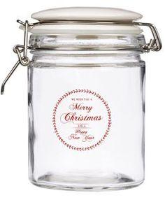3,99e Lasipurkki Merry Christmas, Jar, Home Decor, Merry Little Christmas, Decoration Home, Room Decor, Wish You Merry Christmas, Home Interior Design, Jars