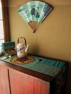 Kimono Flea Market Ichiroya == Obi display hint ==
