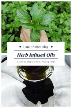 Creating an herb infused oil sounds a lot more complicated than it really is. There are a few different ways to make an infused oil, but the first thing you need is fresh herbs. Choosing and Drying Herbs and Flowers I collectspearmint,plantain leaves,lemon balm, dead nettle, calendula, St. Johns wort, rosemary, and