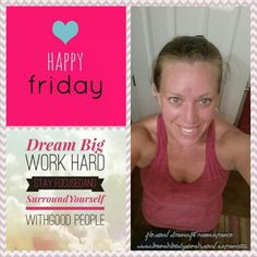 Good morning and #Happy #friday! #21dayfix Cardio Fix and Upper fix done! Tell me what your #dream are! #beachbodycoach #shakeology #fitmom #fitness #fitfam #family #showmeyourguns #nevergiveup #happiness #shotforthestars #believe #followme #likemypage #dreamfitnesscherylspears #endthetrend #pushplay #flexfriday