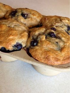 LittleOwlCrunchyMomma: Recipe: Soaked Blueberry Muffins
