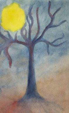 Painting.with indigo.