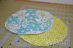 Back in the 80's duffle bags were all the rage. Everyone I knew had several of them. I'm not quite sure what made me think of doing this, but I decided to make a retro-style duffle in this awesomely bright fabric, Dots & Daisies. To give it a bit more of that homemade look, I...Read More »