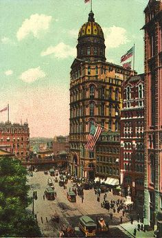 New York City, Vintage Manhatten